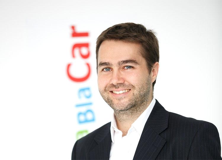 Portrait de Frédéric Mazzella président fondateur de BlaBlaCar et parrain du lobby des consciences