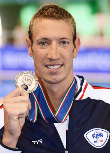 Double champion olympique de natation
