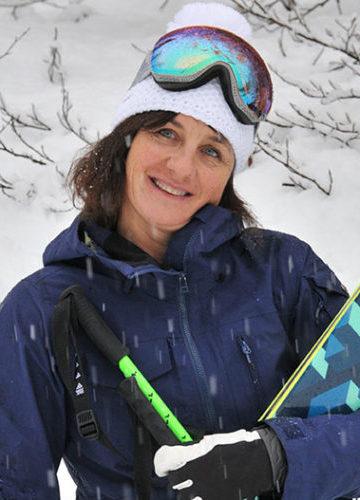Double médaillée olympique de ski